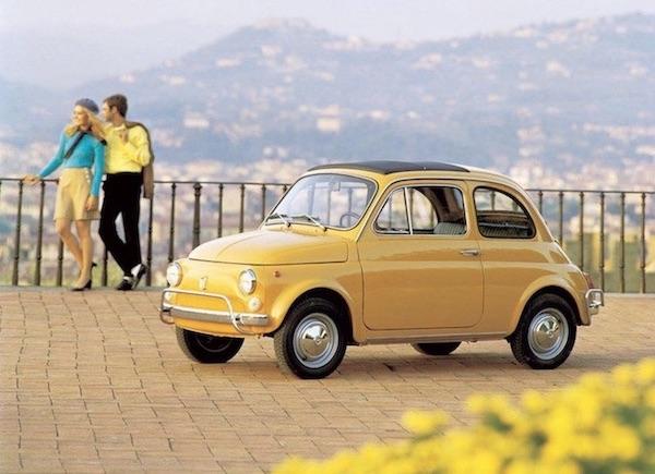 Der neue elektrische Fiat 500 Cabrio