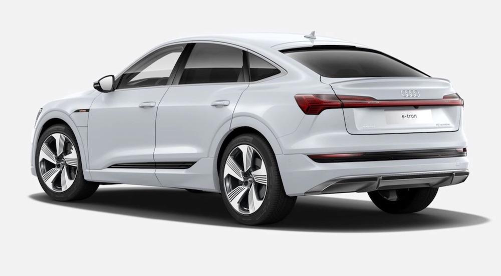 Audi e-tron Sportback elettrica