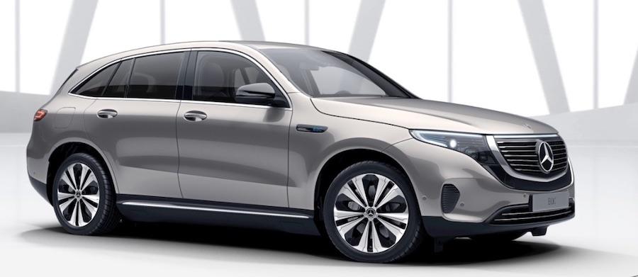 SUV elettrico Mercedes-Benz EQC