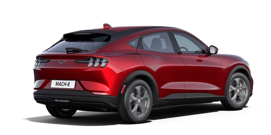 SUV elettrico Ford Mustang