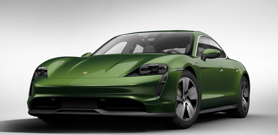 All-Electric Porsche Taycan India