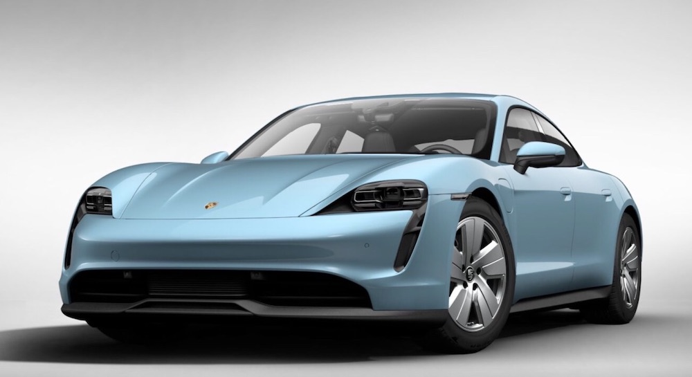 All-Electric Porsche Taycan