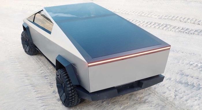 Tesla electric cybertruck