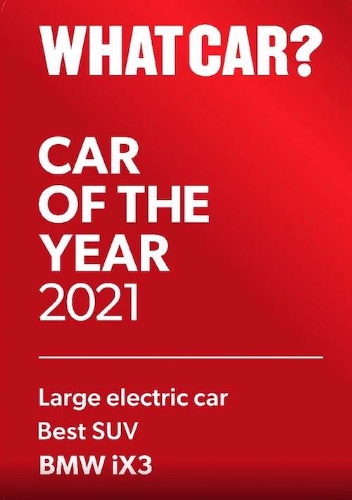 BMW iX3 electric SUV