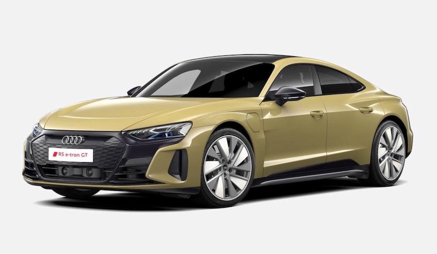 audi etron GT electric car