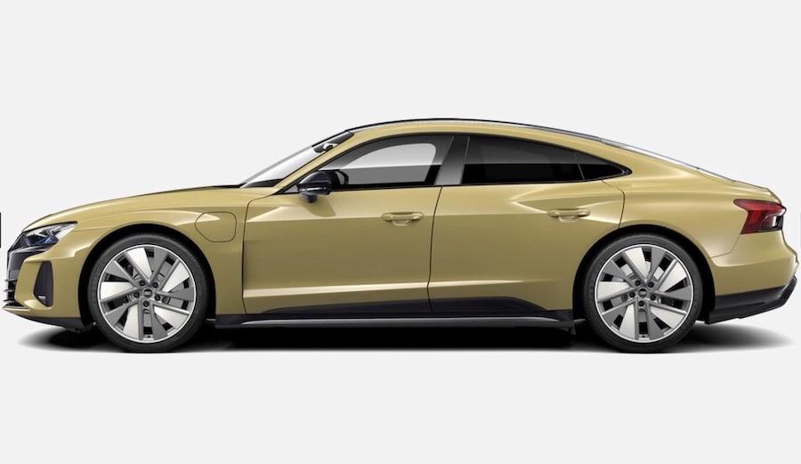 audi etron GT electric car India