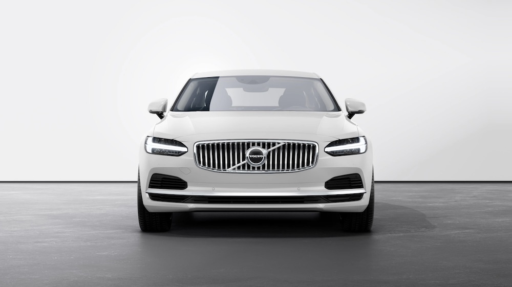 The Volvo S90 Recharge Plug-In Hybrid