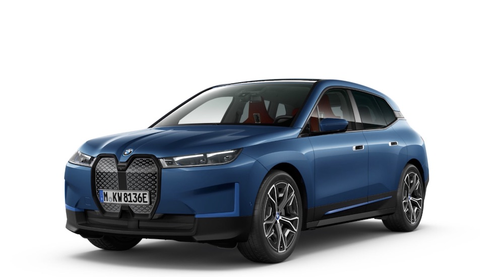 BMW iX electric car