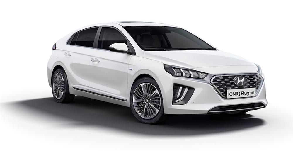 Hyundai IONIQ Electric plug in hybrid