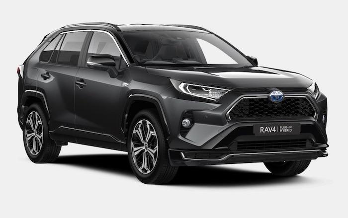 Toyota RAV4 plug in hybrid electric SUV