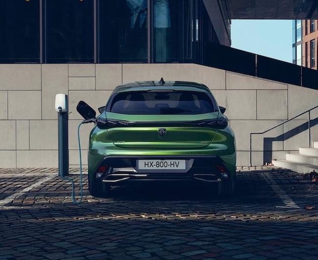 peugeot e-308 electric car