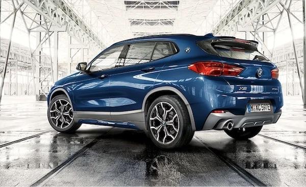 BMW X2 SUV PHEV