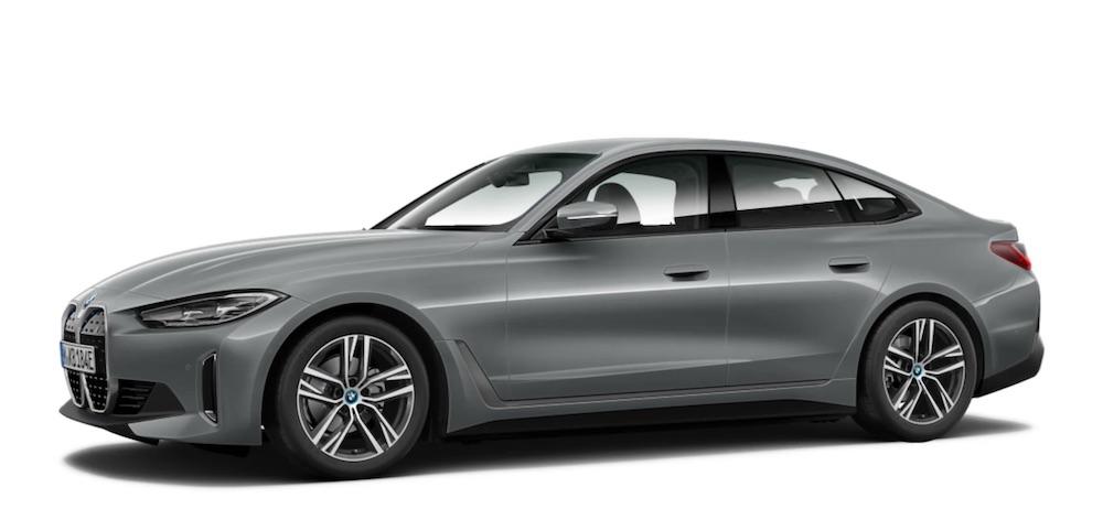 BMW i4 electric car India