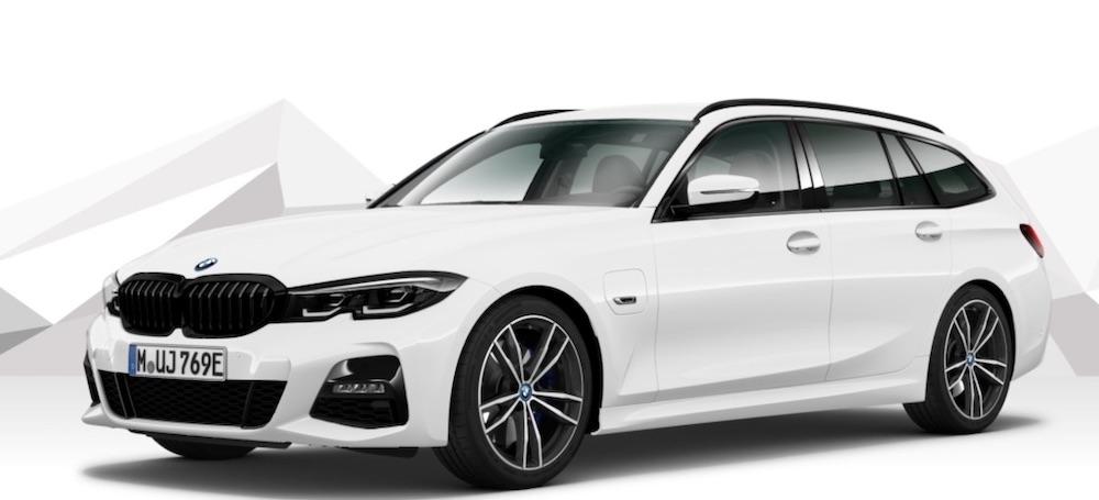 The BMW 330e Plug-In Hybrid