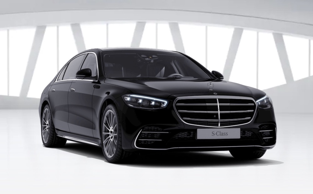 The Mercedes-Benz S Class Saloon PHEV