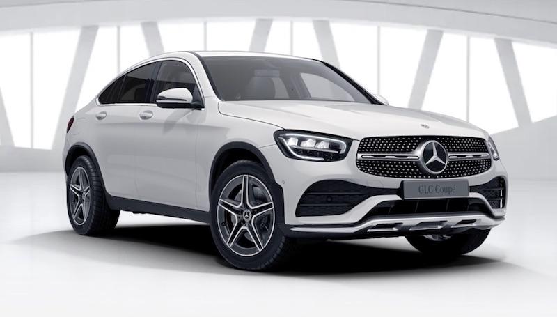 Mercedes-Benz GLC 300 Coupe SUV Plug-In Hybrid