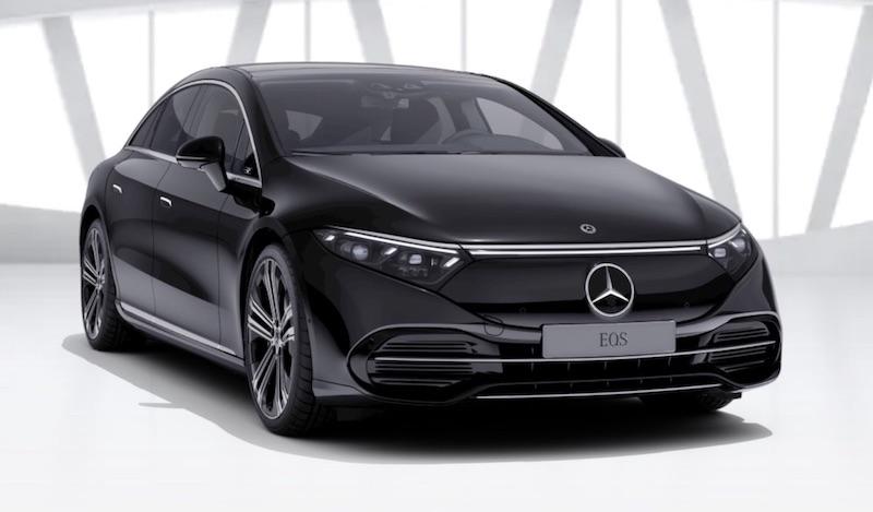 Mercedes-Benz EQS electric Saloon