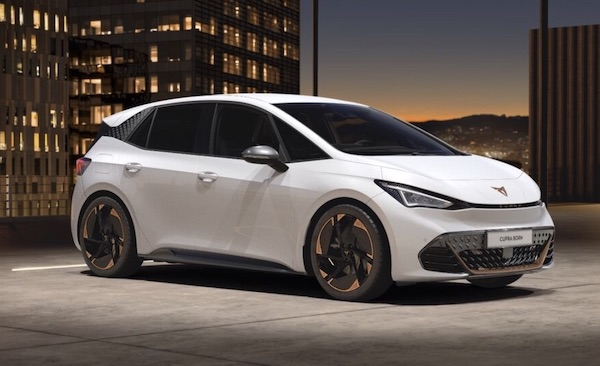 Cupra Born electric car