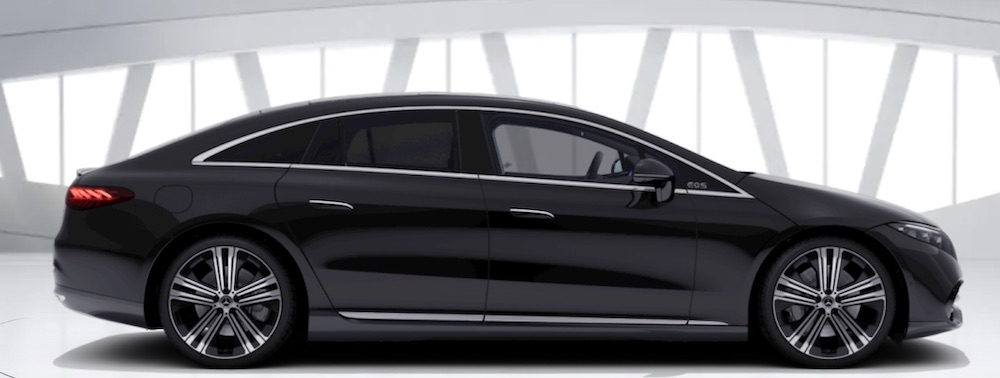 Mercedes-Benz EQS berlina elettrica